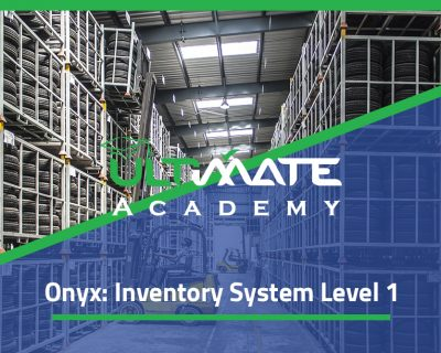 Onyx: Inventory System Level 1