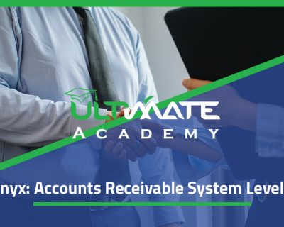 Onyx: Accounts Receivable System Level 1